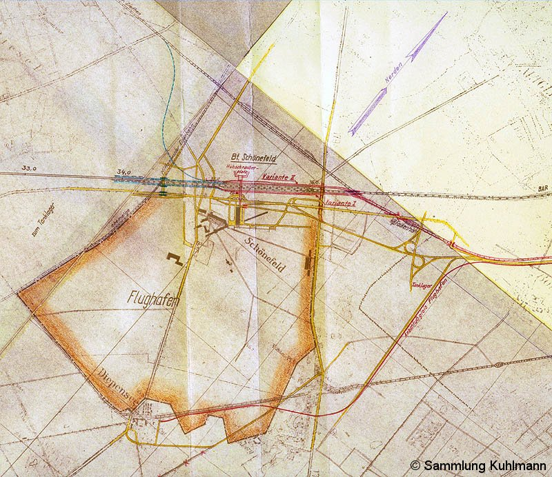 Bild: Planung aus dem Jahre 1959