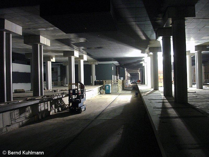 Bild: Rohbau unterirdischer S-Bahnhof 1