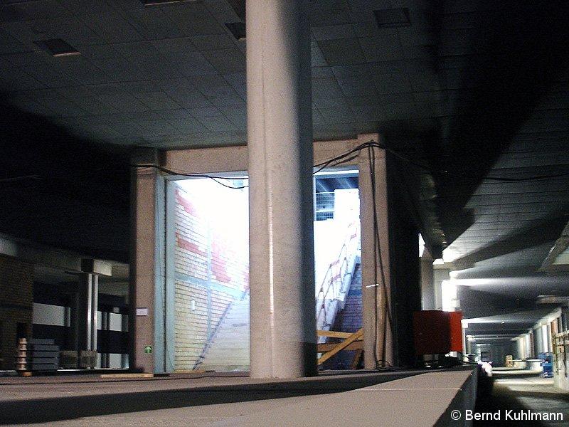 Bild: Rohbau unterirdischer S-Bahnhof 2