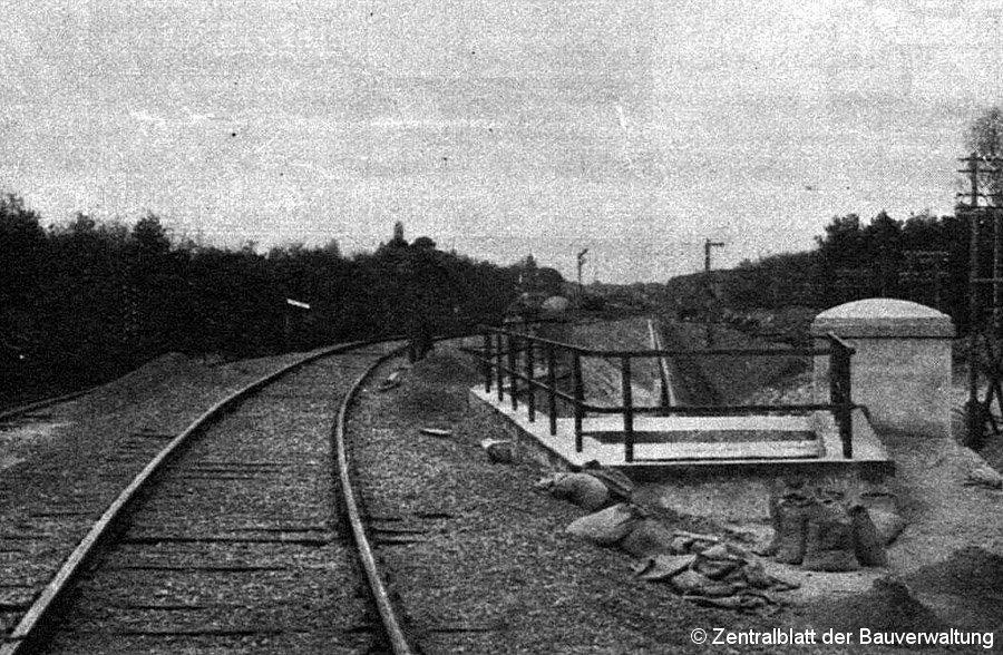 Bild: Einfahrt Wannsee 1913