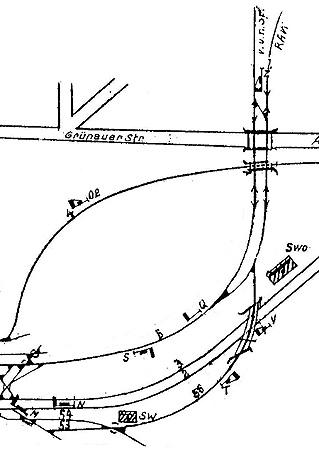 Bild: Gleisplan 1964