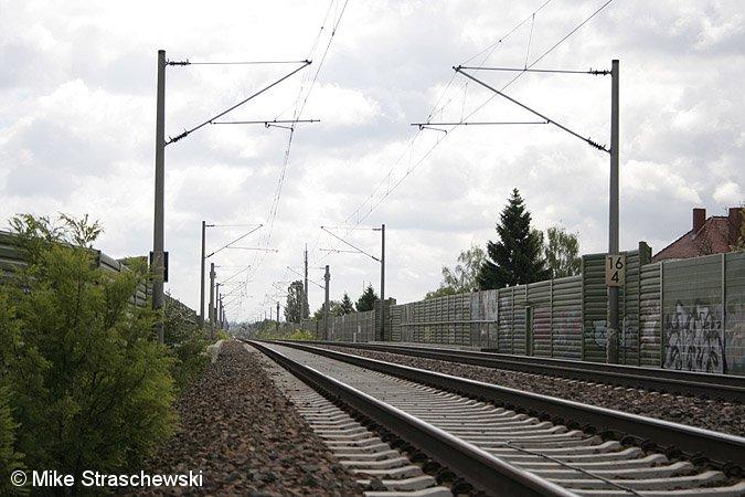 Bild: Hamburger Bahn Blickrichtung Spandau