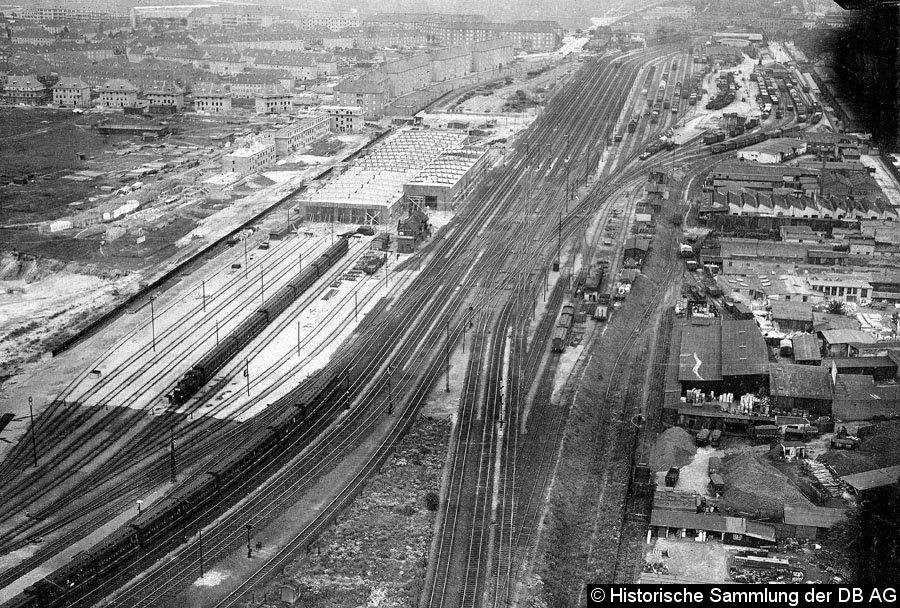 Bild: Luftbild von 1927