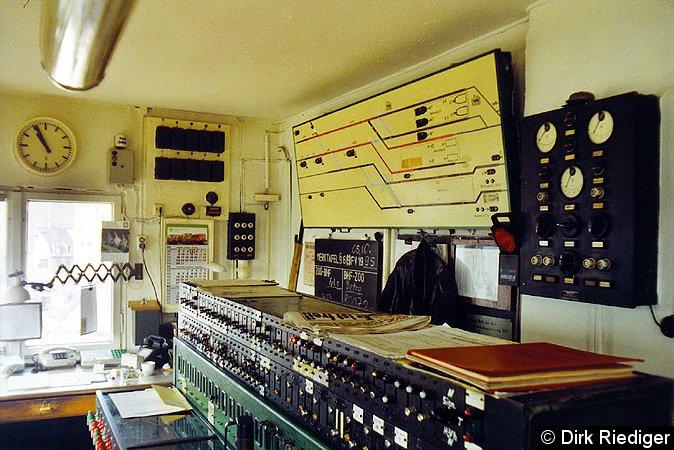 Bild: Blick über die Hebelbank