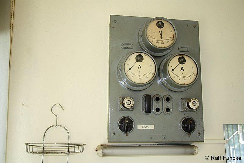 Bild: Stellwerk Tw - Überwachungsschalttafel