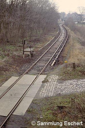 Bild: Blick zum Bahnsteig