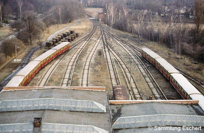 Bild: Überblick über die Gleisanlagen